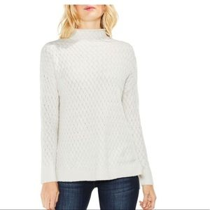 Two by Vince Camuto Mock Turtleneck Sweater Large